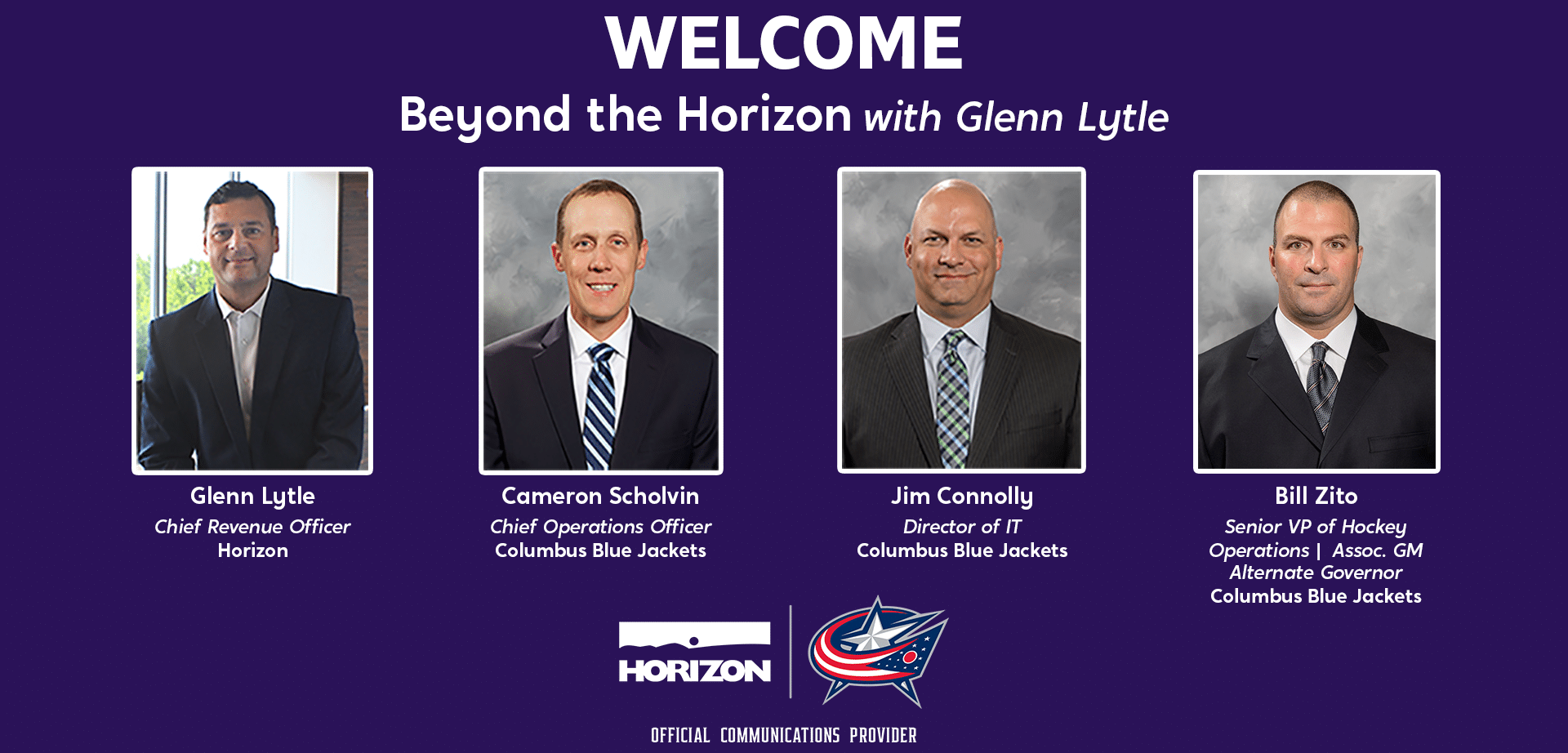 Welcome Columbus Blue Jackets to Beyond the Horizon